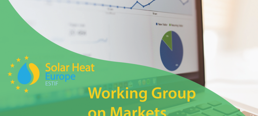 Solar Heat Europe Working Group on Markets – First meeting 22/03 – Register now!