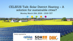 Solar District Heating – A solution for sustainable cities?