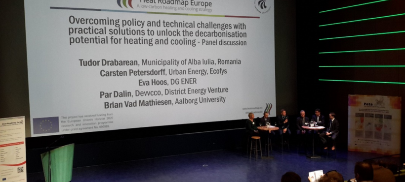 Heat Roadmap Europe: decarbonisation pathways for Europe
