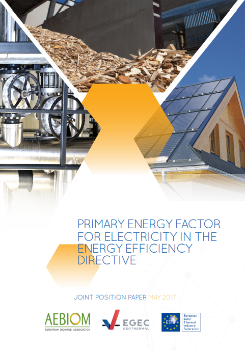 Primary Energy Factor for Electricity in the Energy Efficiency Directive