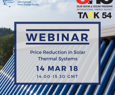 IEA SHC webinar: Price Reduction of Solar Thermal Systems