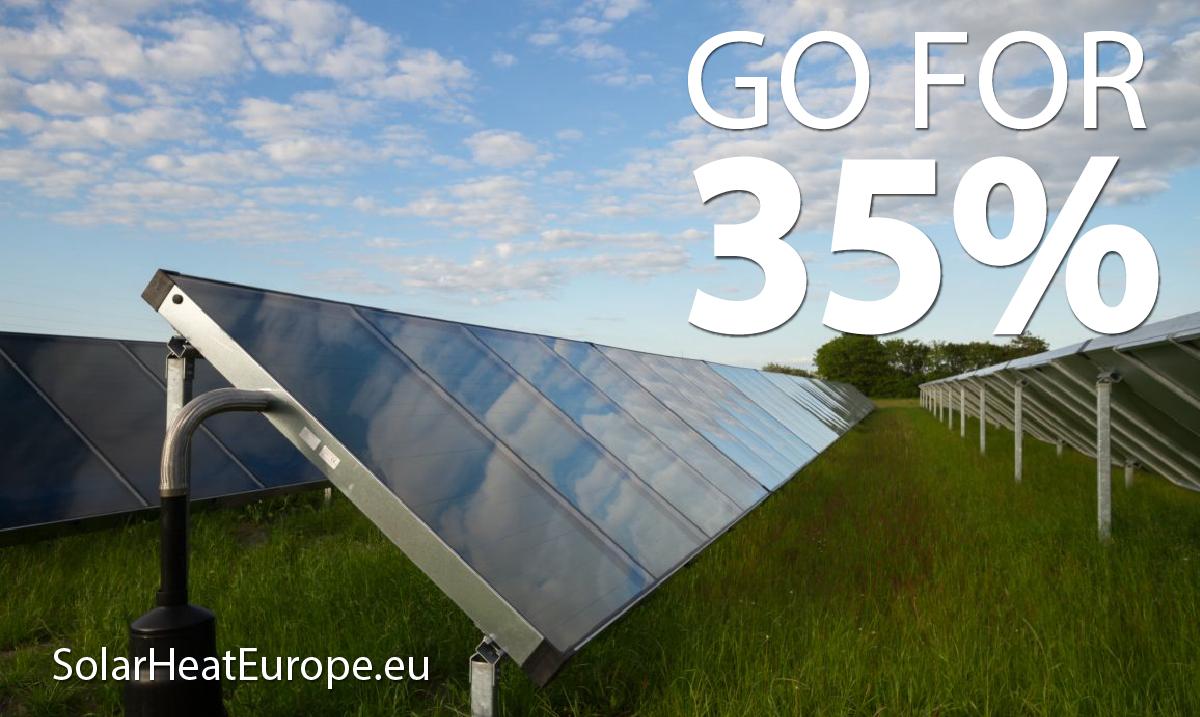 Solar Heat Europe – Go For 35% – FlatPlate Collectors-01