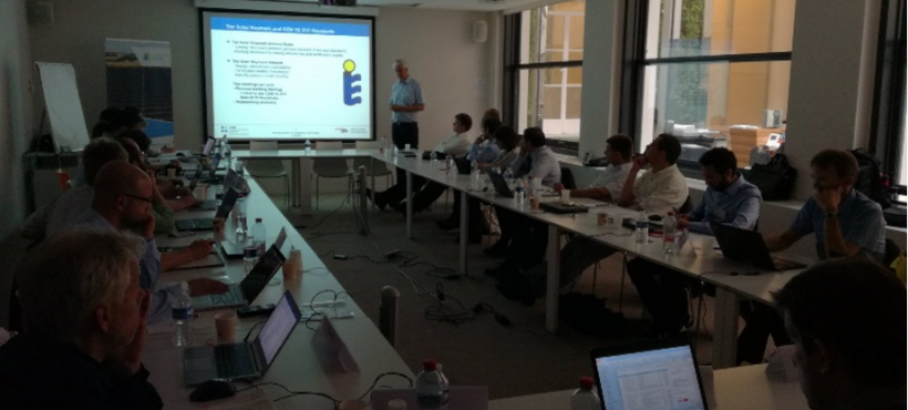"Joint Solar Heat Europe & CEN TC 312 Workshop: Next generation of CEN TC312 ""Solar Thermal"" Standards"