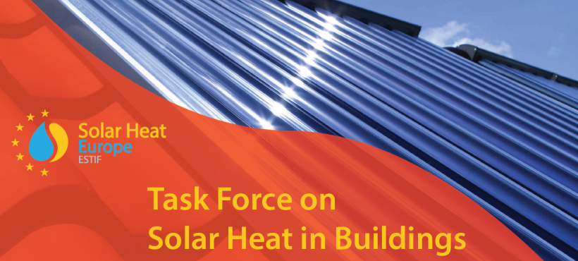 Task Force on Solar Heat in Buildings – October 30th – Save the Date – Call for contributions