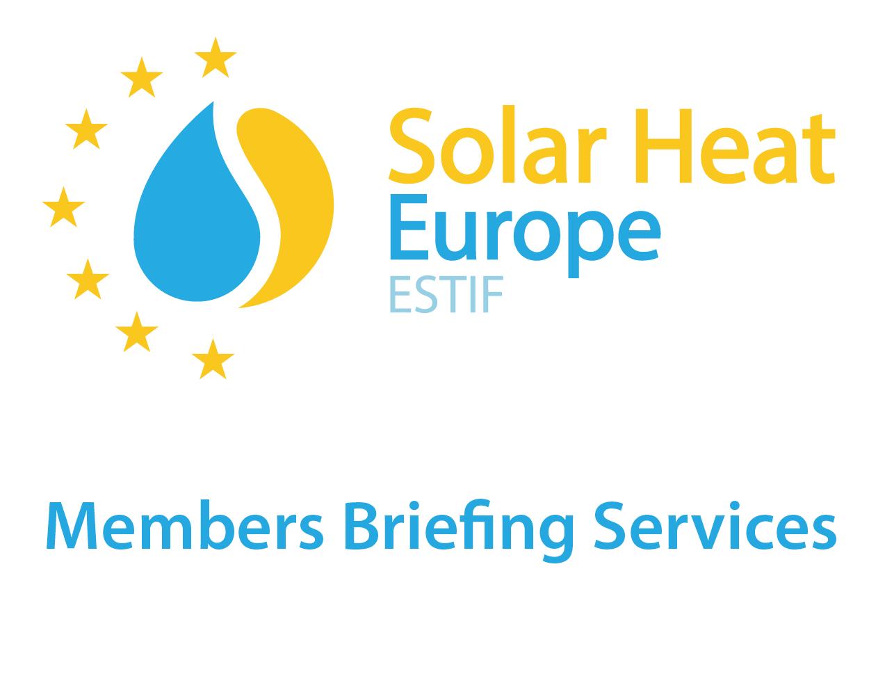 Solar Heat Europe – Members Service Briefings