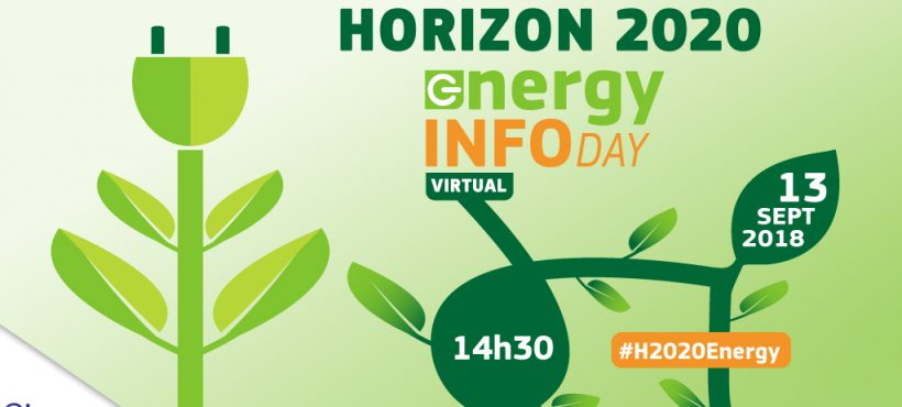 Horizon 2020 Energy virtual info day – September 13th
