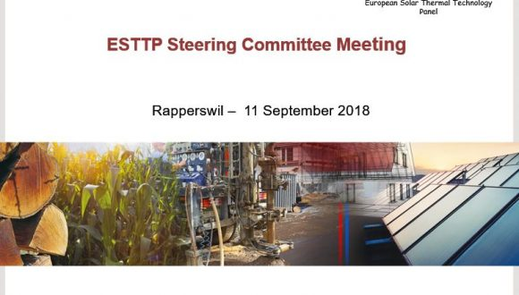 The European Solar Thermal Technology Panel appoints a new Steering Committee