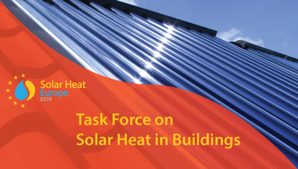Task Force on Solar Heat in Buildings – November 20th – 10:30 to 12:00
