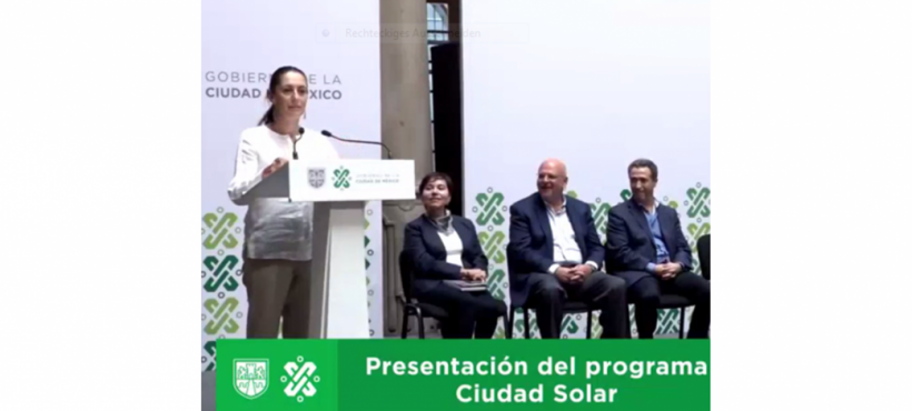Big solar plans in Mexico City
