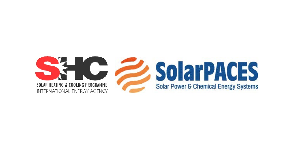 logos SHC and SolarPACES