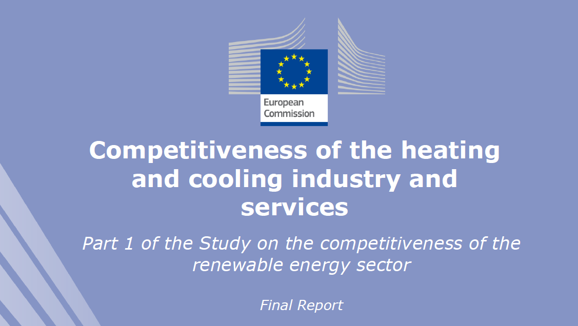 Competitiveness of the renewable heating and cooling sector