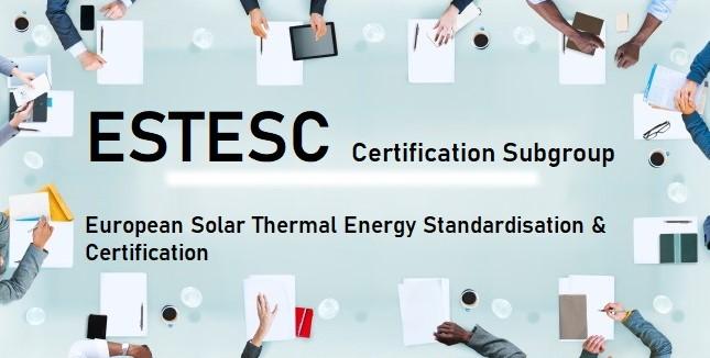 ESTESC Certification subgroup meeting