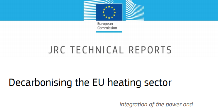 Heating and Cooling sector recognised as a priority for decarbonisation