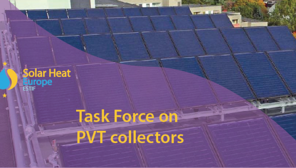 Solar Heat Europe: NEW Task Force on PVT collectors