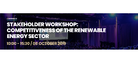 Competitiveness of the renewable energy sector conference