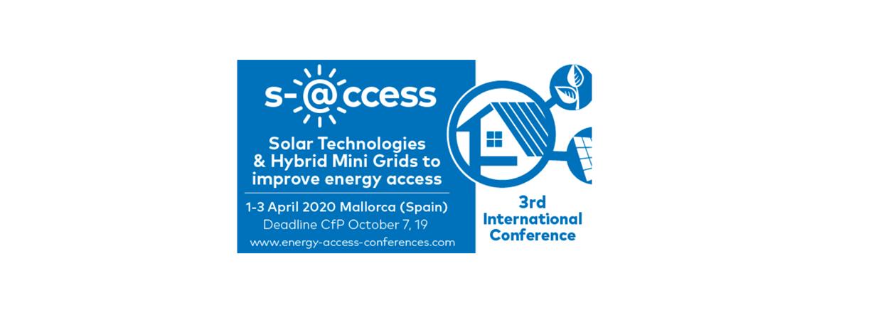 3rd International Conference on Solar Technologies & Hybrid Mini Grids