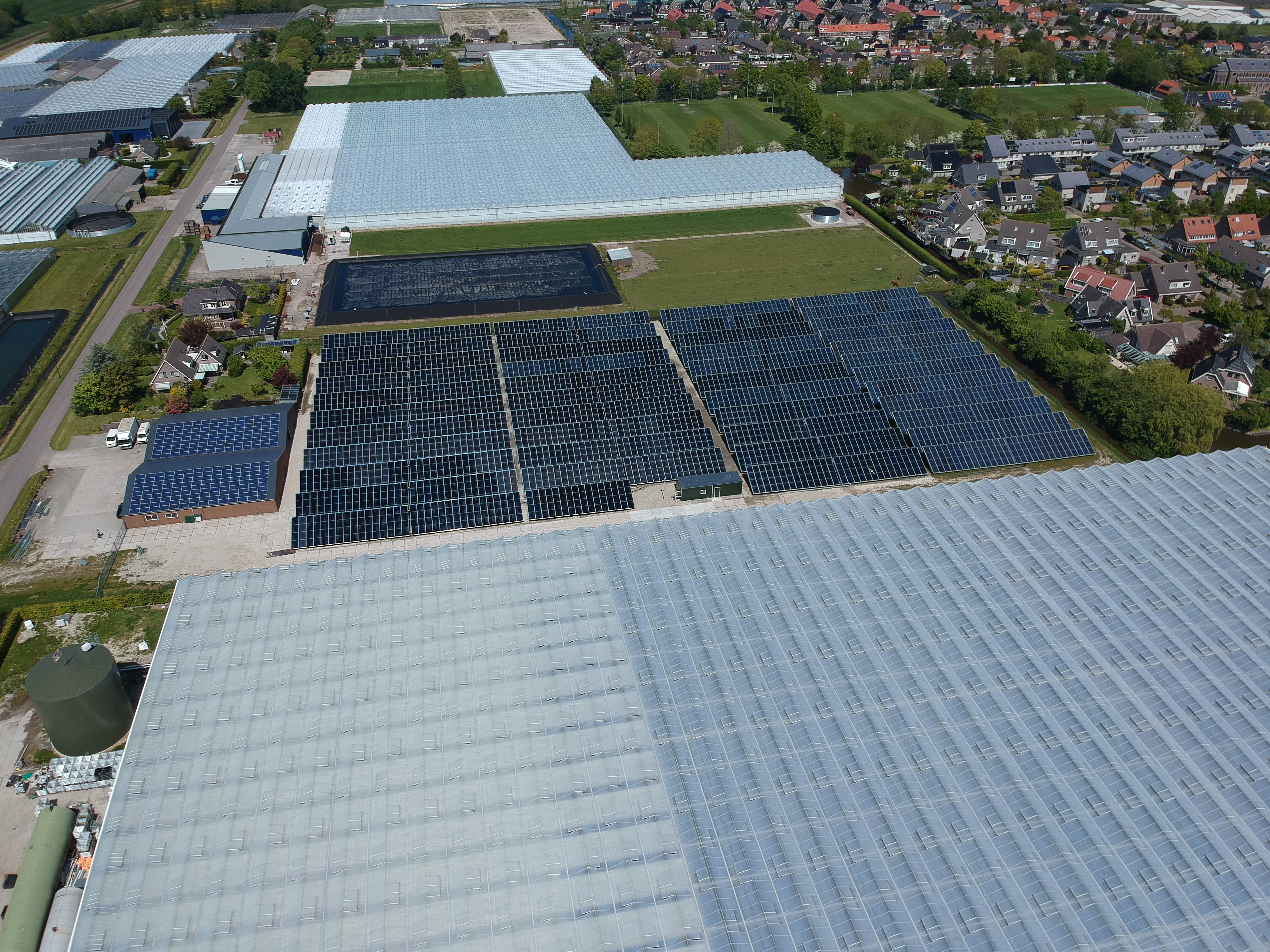 The largest solar heating system in the Netherlands opened (Credits G2Energy)