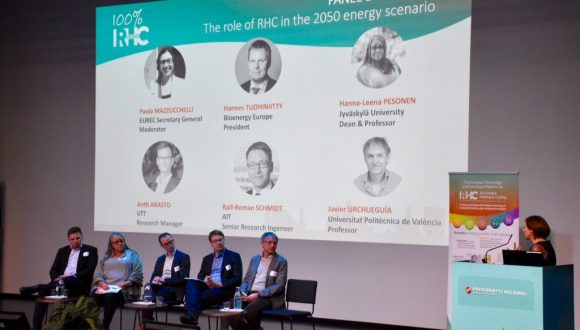 100% Renewable Future, the outcomes of the RHC-ETIP annual conference in Helsinki