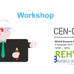 CEN-CE the project for training CEN EPB Standards Certified Experts
