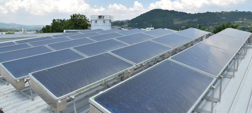 TVP Solar – collector field