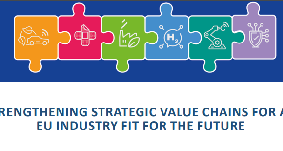 Report on industrial policy recommendations to support Europe's leadership
