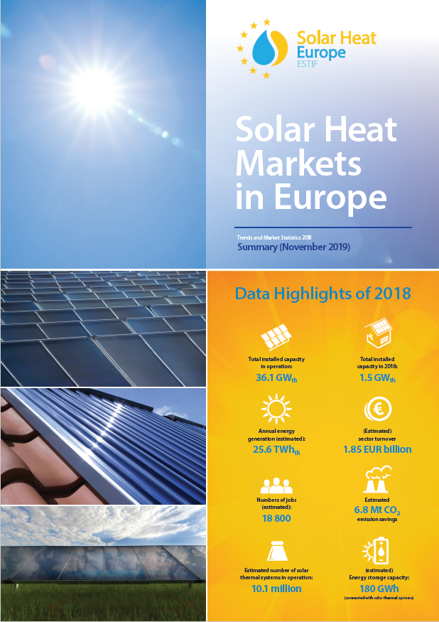 Solar Heat Market in Europe Cover