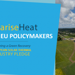 #SolariseHeat – The Solar Heat sector reaffirms to EU policy makers its commitment to a Green Recovery