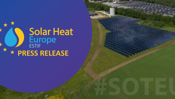PRESS RELEASE – Renewable heating and cooling is essential for EU's stronger ambition on Climate and Green Recovery