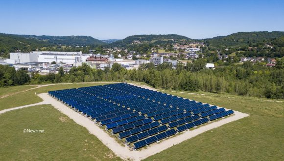 News from members: NEWHEAT announces a total €15m fundraising for a pool of 5 solar thermal plants in France