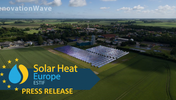PRESS RELEASE – Renovated and energy efficient buildings are a must for a green future, and solar heat is a solution