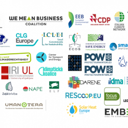 Joint letter: Investors, businesses, regions, cities, local communities and NGOs call on the EU leaders to agree on the most ambitious 2030 climate target