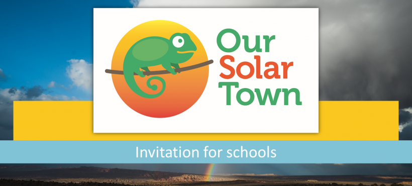 Our Solar Town – Invitation to schools