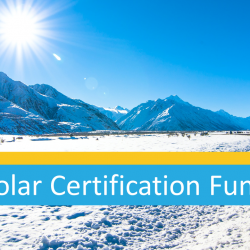 10 years of Solar Certification Fund