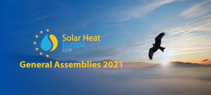 Solar Heat Europe General Assemblies in 2021