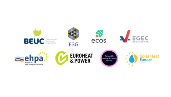 Joint letter – Binding targets and national plans are needed to support the decarbonization of the heating and cooling sector