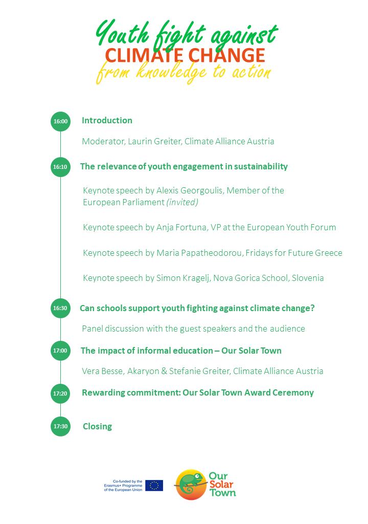 OST final event – Agenda