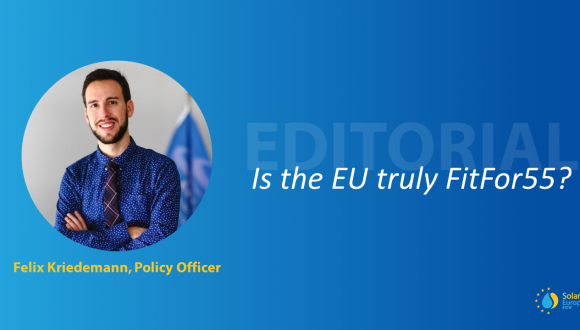 Editorial – Is the EU truly #FitFor55?